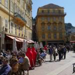 Street scene in Nice
